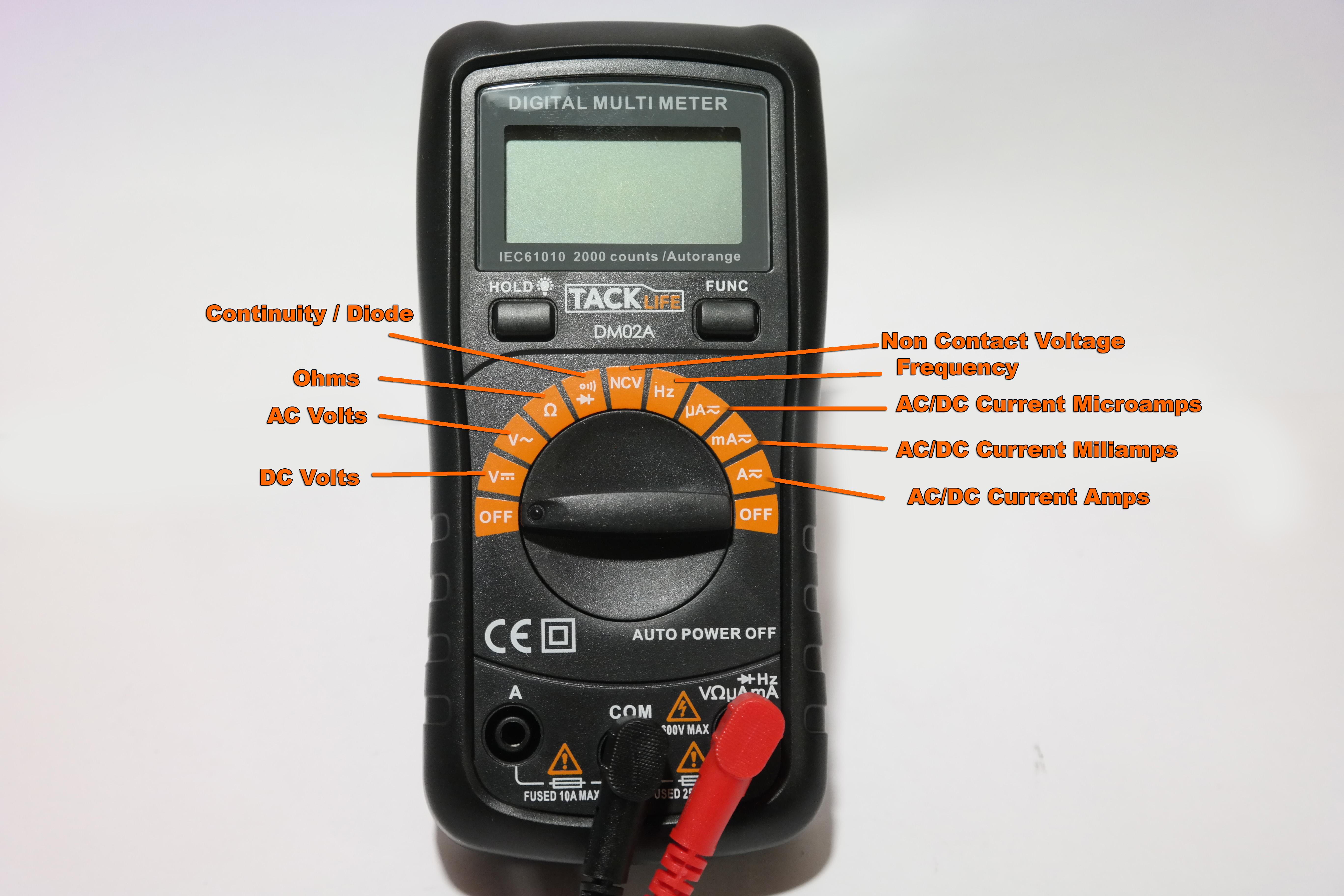 Engine Science The Digital Multi Meter Isavetractors Kohler K341 Voltage Regulator Wiring Diagram Symbols On